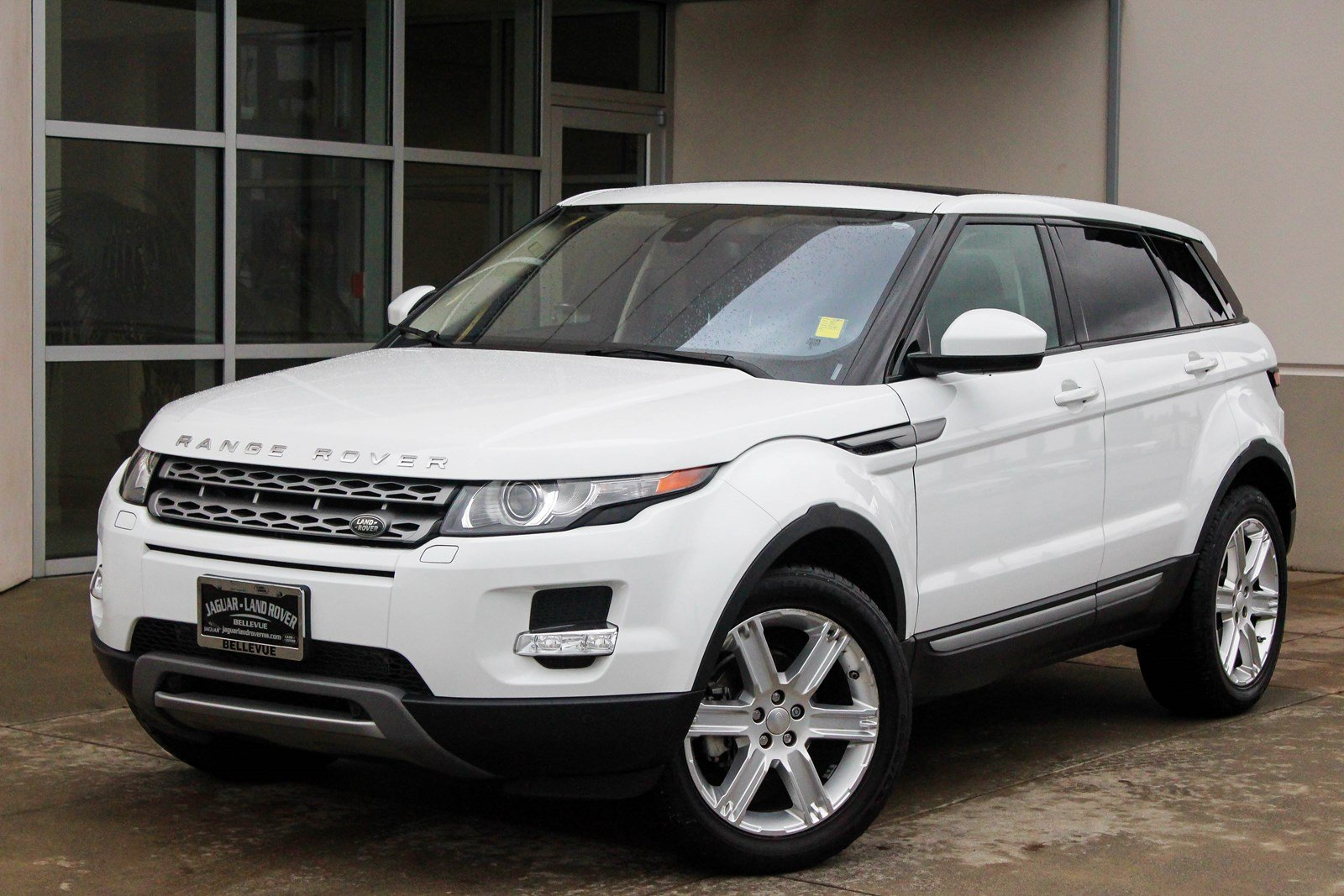 certified pre owned 2014 land rover range rover evoque pure plus sport utility in bellevue. Black Bedroom Furniture Sets. Home Design Ideas