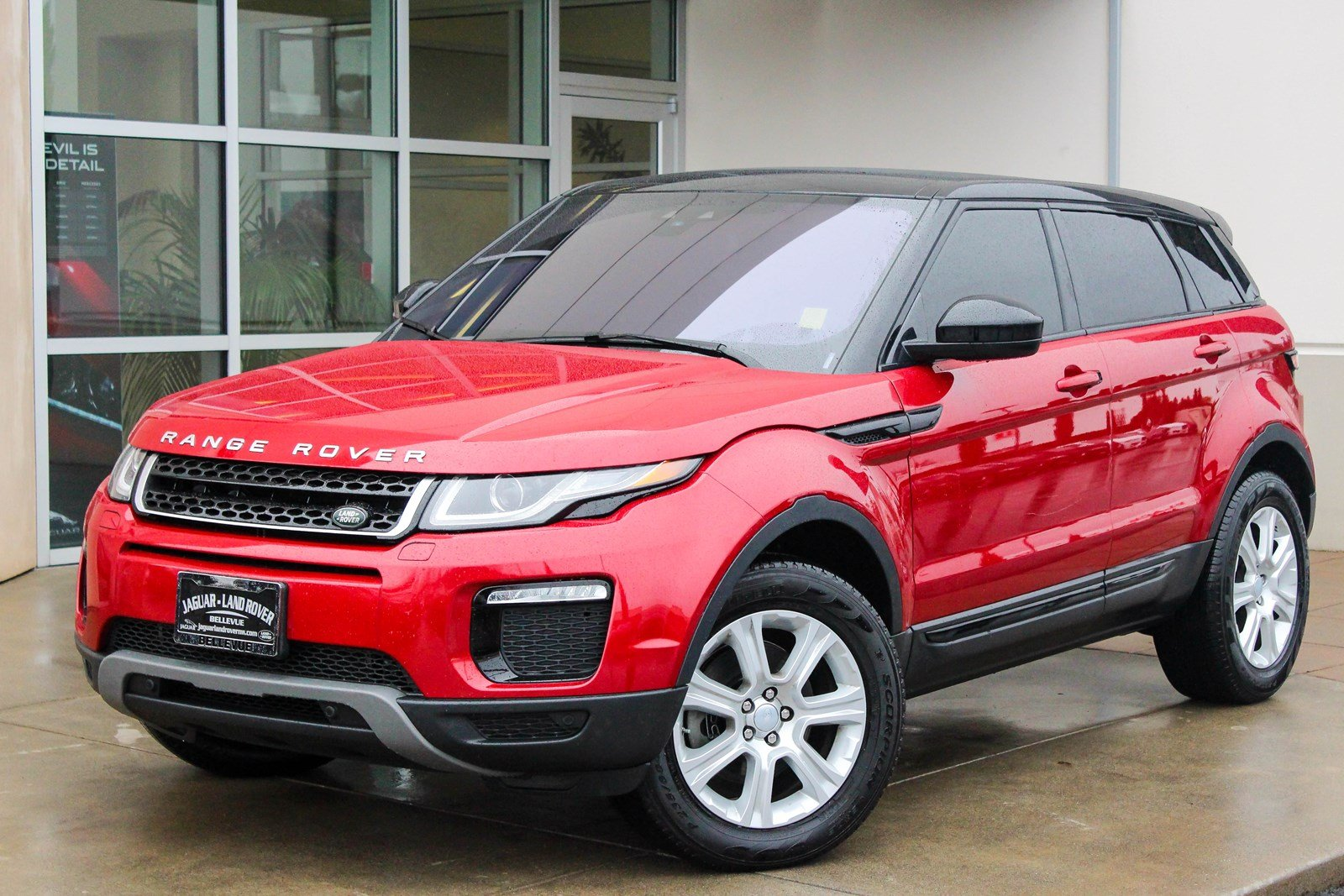 certified pre owned 2016 land rover range rover evoque se premium sport utility in bellevue. Black Bedroom Furniture Sets. Home Design Ideas