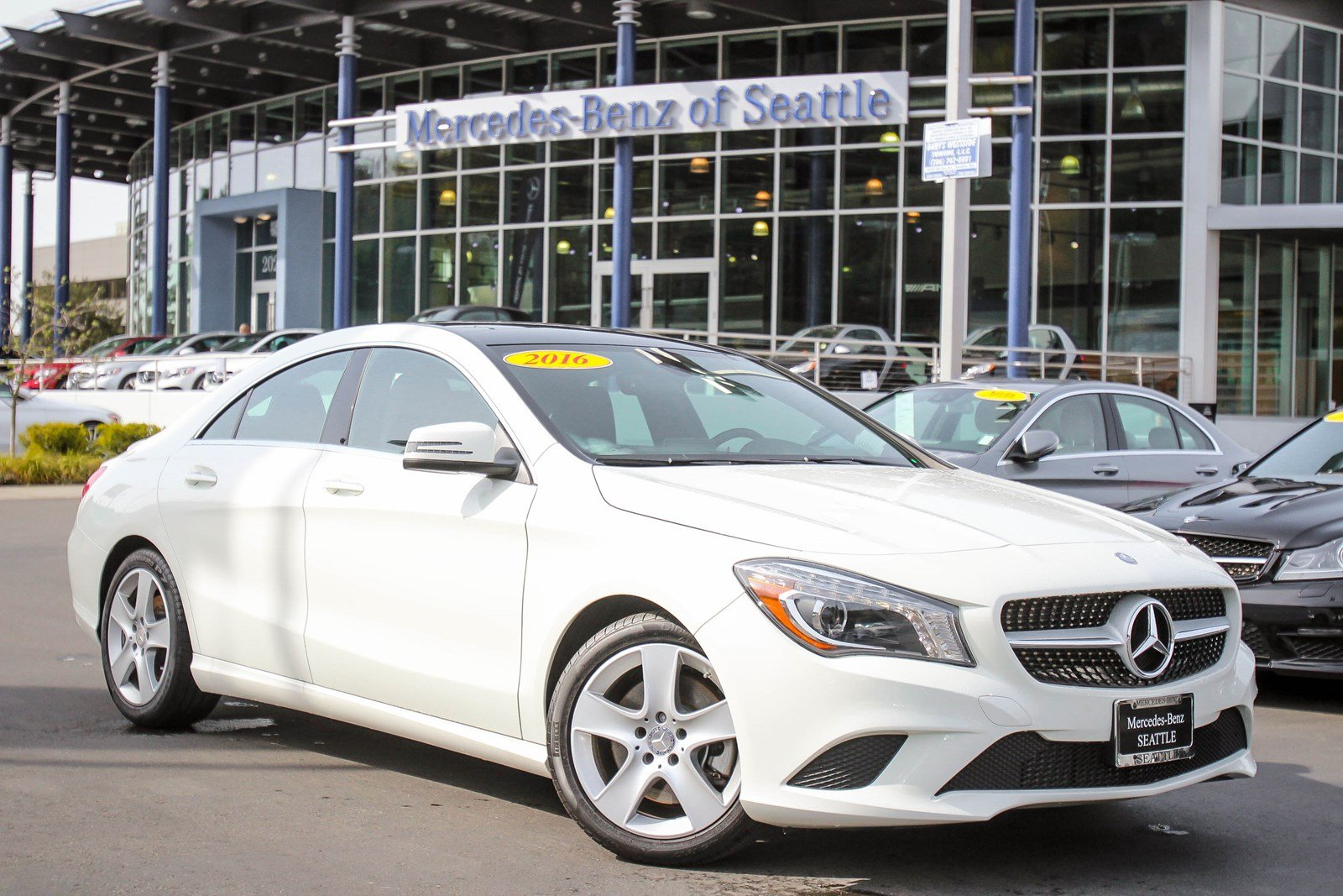 pre owned 2016 mercedes benz cla cla 250 coupe in bellevue 7076p jaguar bellevue. Black Bedroom Furniture Sets. Home Design Ideas